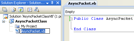A Simple VB .NET Asynchronous Class Example - renaming the source file