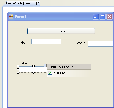 VB .NET WinForm Program Example - arranging controls on the Windows Form