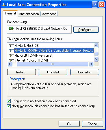 The ipx/spx and winsock 2 programming example with client-server c.