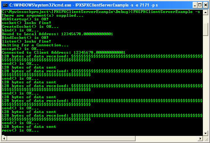 Novell netware protocol suite.